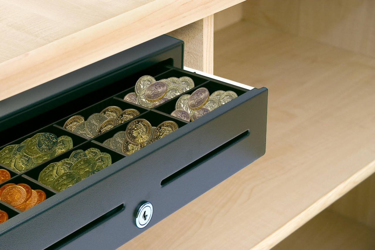 Cash Drawer Under Counter Mounts | A Custom POS Solution